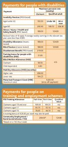 Benefits and Taxes 2011 leaflet (pdf) - Citizens Information Board - Page 3
