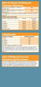 Benefits and Taxes 2011 leaflet (pdf) - Citizens Information Board - Page 5