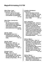MagnaPrint-katalog 512-709 - Nyt Dansk Litteraturselskab