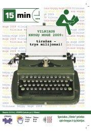 VILNIAUS KNYGŲ MUGĖ 2009: tiražas - trys milijonai! - 15min.lt