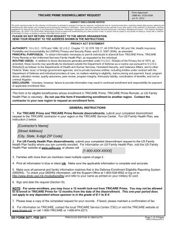 reconsideration request form - TRICARE Overseas