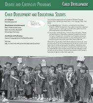 Early Childhood Education (ECE) - Gavilan College