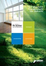 N-solar - arcon Glas