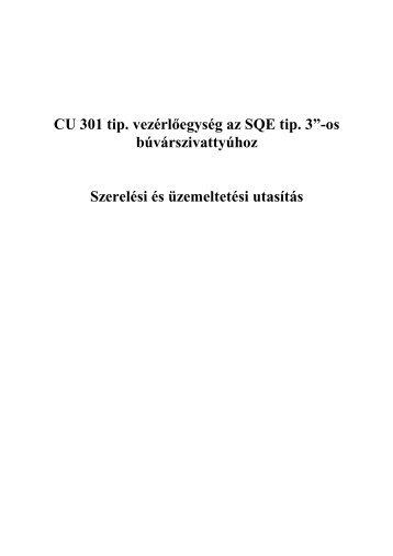 """CU 301 tip. vezérlőegység az SQE tip. 3""""-os búvárszivattyúhoz ..."""