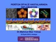 Periton Diyaliz Hastalarında İnflamasyon