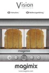 mode d'emploi toaster
