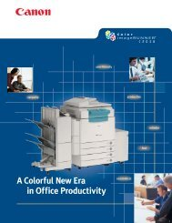 A Colorful New Era in Office Productivity - Advanced Copier ...