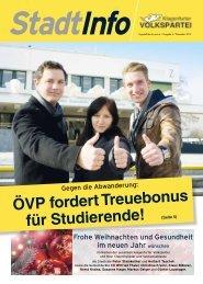 ÖVP-Stadtinfo - ÖVP Klagenfurt