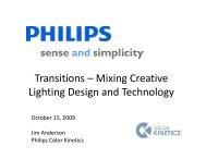 Transitions – Mixing Creative Li hti D i dT h l ... - Architectural SSL
