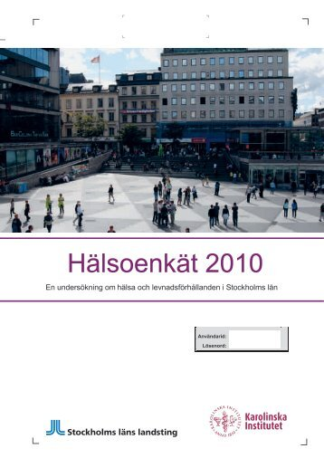 Health survey (pdf)