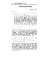 A Values Education Program Shandy Chakko - Divine Word University