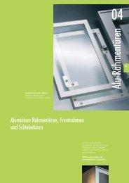Alu-Frontrahmen für Möbeltüren und Panele - Glas und Spiegel Shop