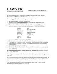 LAWYER - Hillsborough County Bar Association