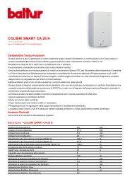 COLIBRI SMART CA 26 K - Certificazione energetica edifici