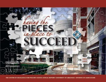 CEPS Annual Report - Poultry Science - University of Arkansas