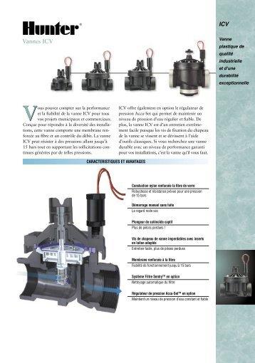 ICV Vannes ICV - Hunter Industries