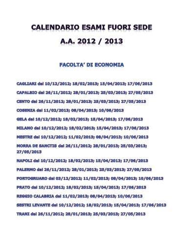 Calendario Esami Unimarconi.40 Free Magazines From Unimarconi It