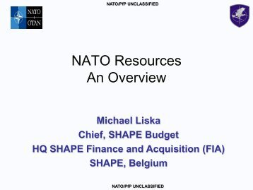 NATO Resources