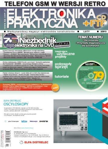 Elektronika Praktyczna, luty 2013 - UlubionyKiosk