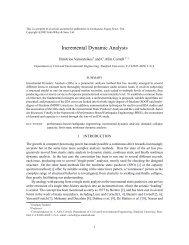 Incremental Dynamic Analysis