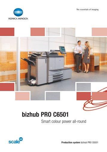 bizhub PRO C6501 Smart (Pdf)