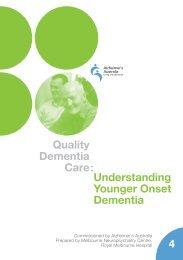 Understanding younger onset dementia - Alzheimer's Australia