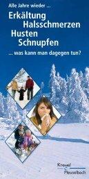 Erkältung Halsschmerzen Husten Schnupfen - Krewel Meuselbach