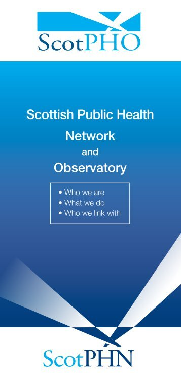 Scottish Public Health Network Observatory