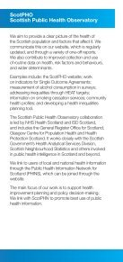 Scottish Public Health Network Observatory - Page 4