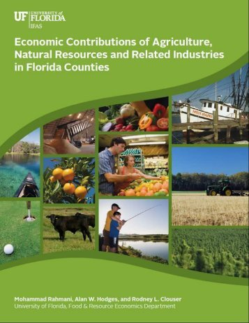 Report (4.0 MB pdf) - Food and Resource Economics Department