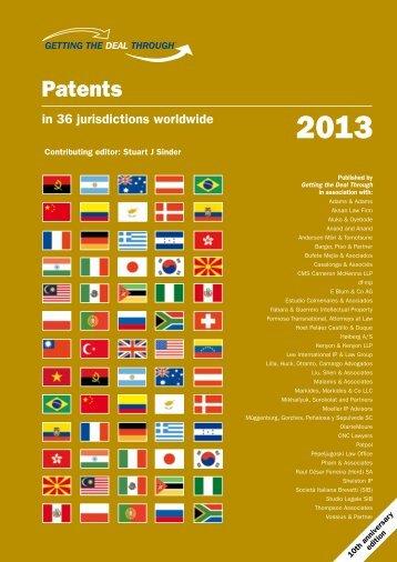 PT2013 European Pate.. - VOSSIUS & PARTNER
