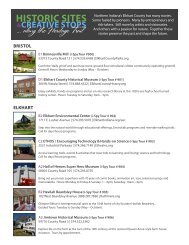 Historic Sites & Creative Stops - Amish Country