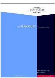 SGG PLANIDUR - Saint-Gobain Glass
