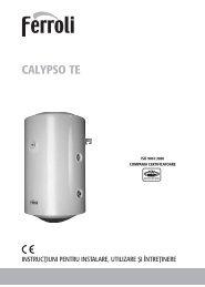 carte tehnica - calypso TE.qxp - ProIdea