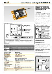 Kommunikations- und Netzgerät BKN230-24-1B - Belimo