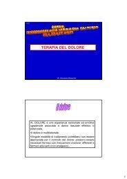 TERAPIA DEL DOLORE - ASL AL