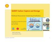 Shell Quest, Canada - Southeast Regional Carbon Sequestration ...