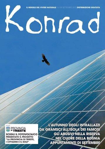 appuntamenti di settembre - Konrad