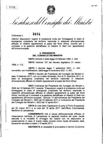 21 aprile 2011 - Protezione Civile Anci