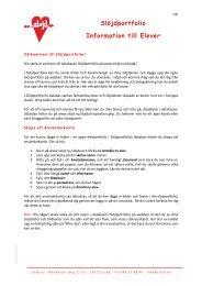 Information för elever