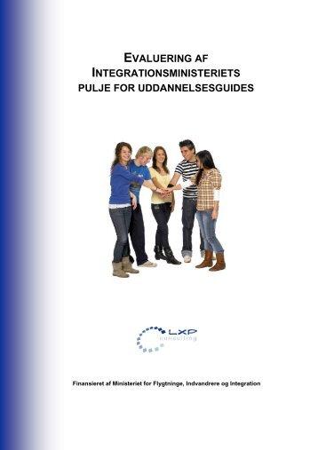 Evaluering af Integrationsministeriets pulje for ... - Ny i Danmark
