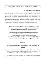 Entscheidung Nr. WA2/2007 zu 46/2006 - Nationalfonds der ...