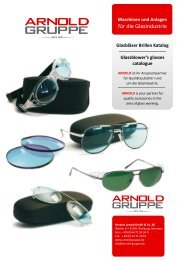 Glasbläser Brillen Katalog Glassblower's glasses ... - Arnold Gruppe