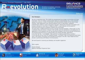 R-evolution - Reliance Communications