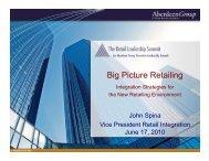 Big Picture Retailing - Summit