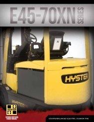 E45-70XN Brochure - Hyster Company