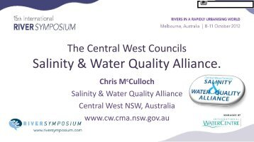 Salinity & Water Quality Alliance