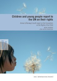 children and young people report to the UN on their rights - Nova