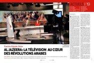 Al Jazeera: la télévision au coeur des révolutions arabes ... - rts.ch