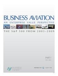 Business Aviation: An Enterprise Value Perspective - NBAA